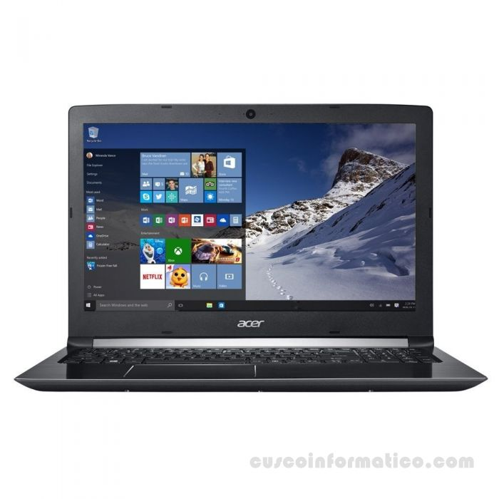 "Notebook Acer Aspire 5 A515-41G-18GZ, 15.6"" AMD Quad-Core A12-9720P 2.7GHz, 2TB 8GB DDR4 Video 2GB"