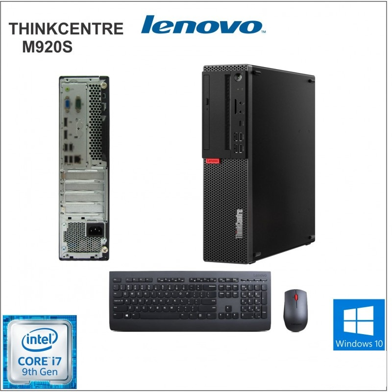Computadora Lenovo ThinkCentre M920s, Intel Core i7-9700 3.00GHz, 8GB DDR4, 1TB SATA