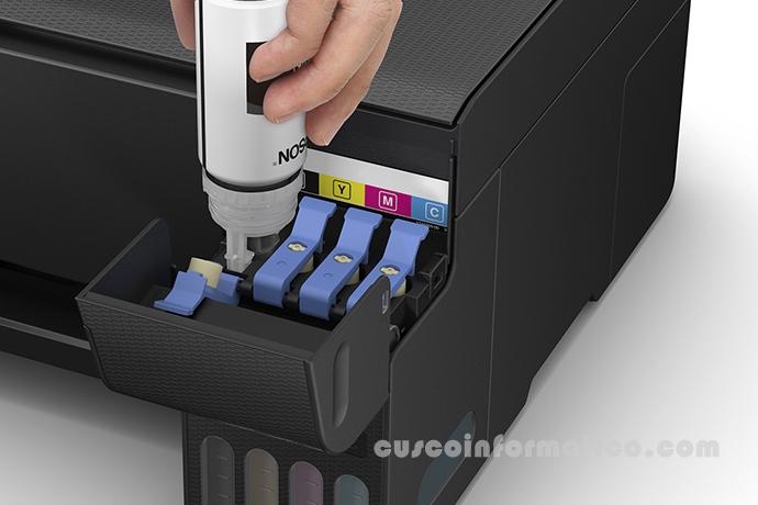 Multifuncional de tinta Epson EcoTank L3150, imprime/escanea/copia, Wi-Fi / USB