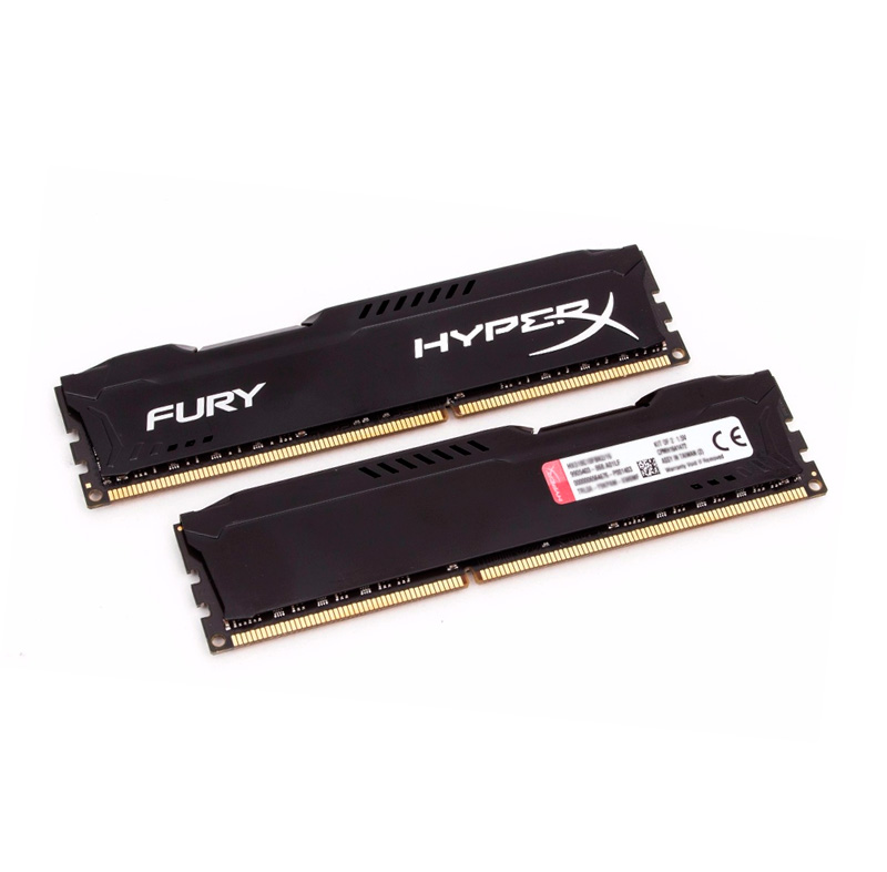 Memoria Ram Kingston HyperX Fury Black, 4GB, DDR3, CL10