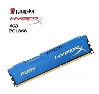 Memoria Kingston HyperX Fury Blue, 8GB, DDR3, CL10