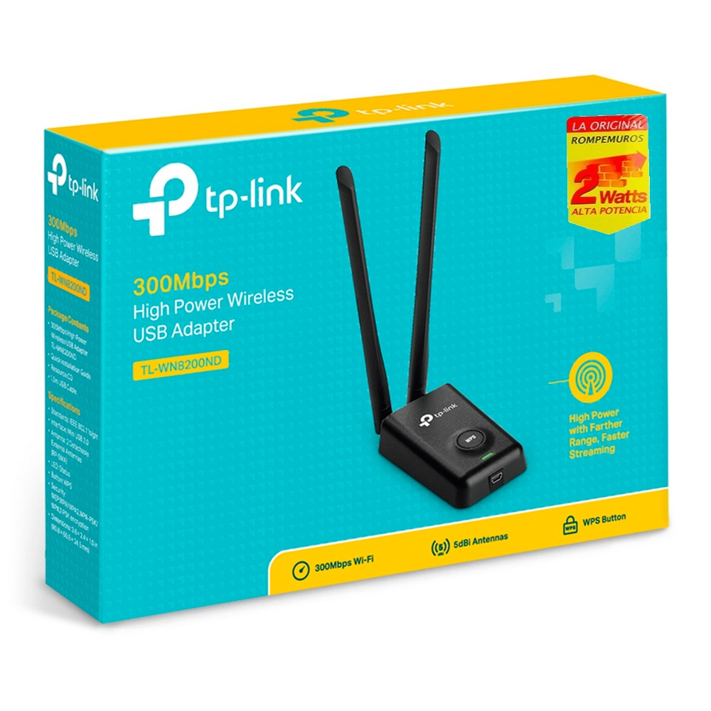 adaptador-usb-wireless-tp-link-tl-wn8200nd-2-4ghz-802-11n-5dbi-300mbps