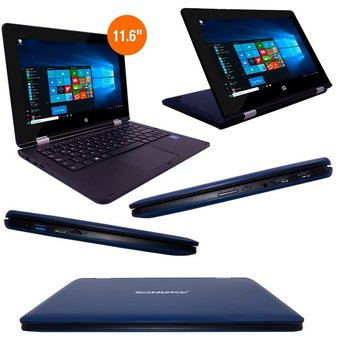 "Notebook 2 en 1 Advance Nova NV9942, 11.6"" FHD, Intel Celeron N3350 1.10 GHZ, 3GB DDR3"
