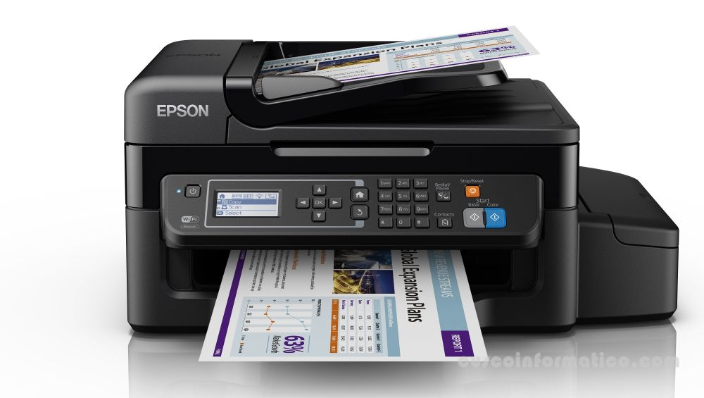 Impresora multifuncional EPSON L575 Sistema continuo, Wifi, fax