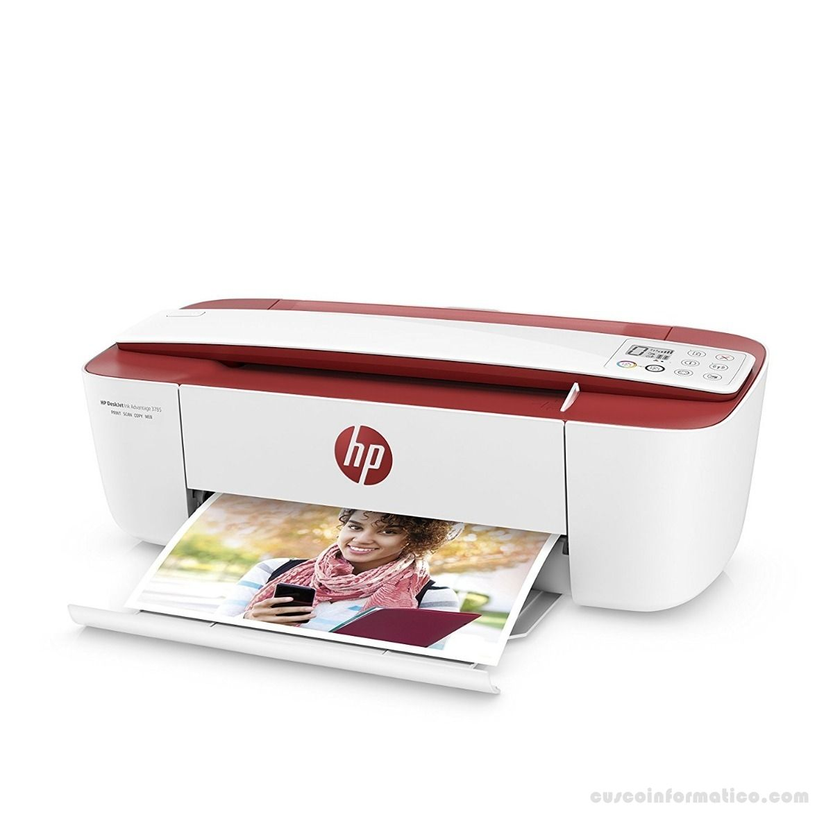 Impresora Multifuncional de tinta HP DeskJet Ink Advantage 3785, Imprime/Escáner/Copia/ USB/Wi-Fi