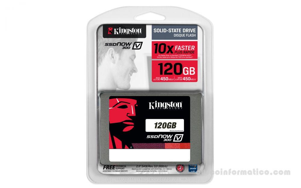 Disco Duro de estado solido 120GB Kingston V300