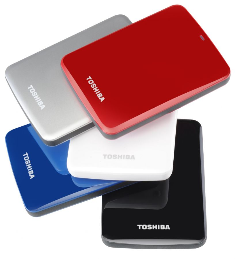 Disco duro externo Toshiba Canvio Connect 1 TB, USB 3.0